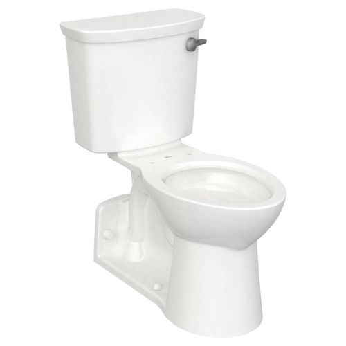 Yorkville VorMax Elongated 1.28 gpf Right Hand Trip Lever Two-Piece Toilet in White
