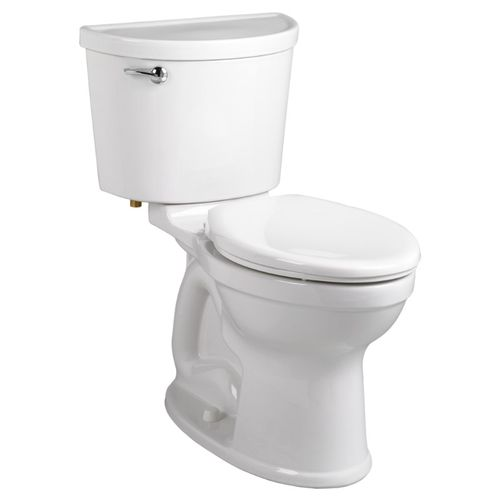 Champion Pro Elongated 1.28 gpf Two-Piece Toilet in White - ADA Compliant