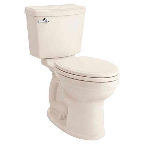 Portsmouth Elongated 1.28 gpf Two-Piece Toilet in Linen