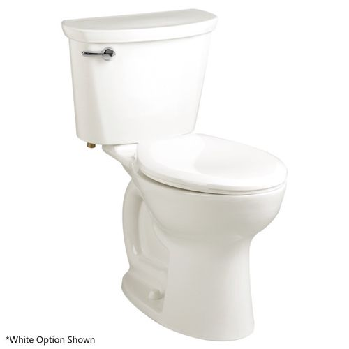 """Cadet Pro Elongated 1.6 gpf Two-Piece Toilet in Bone - 14"""" Rough-In"""
