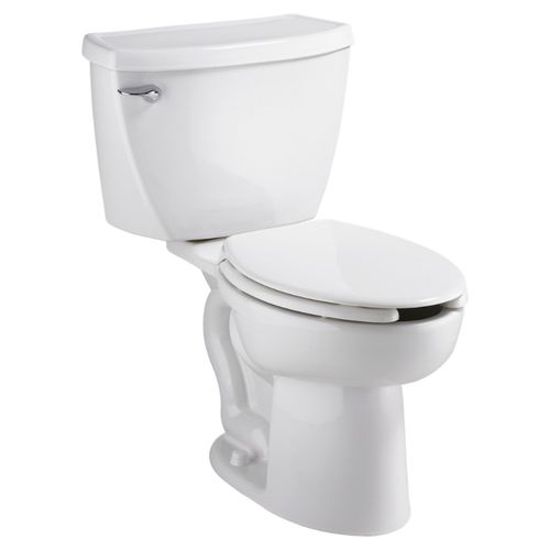"""Cadet 3 Elongated 1.6 gpf  15"""" Rim Height Two-Piece Toilet in White"""