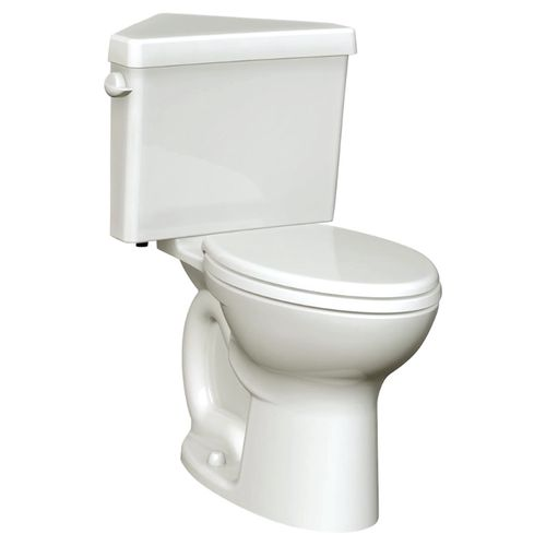 Triangle Cadet 3 Elongated 1.6 gpf Two-Piece Toilet in White