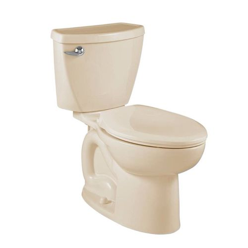 Cadet 3 Elongated 1.28 gpf Two-Piece Toilet in Bone