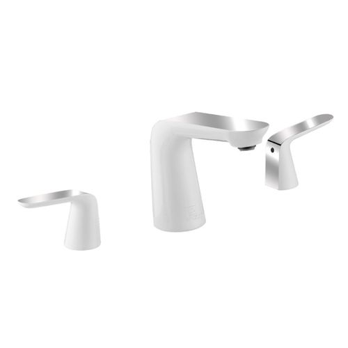 Pendant Widespread Bathroom Faucet in Polished Chrome