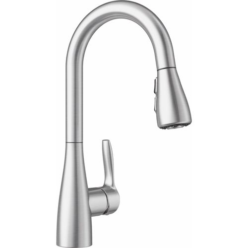 Atura Single-Handle Pull-Down Bar Faucet Kitchen Faucet in Stainless