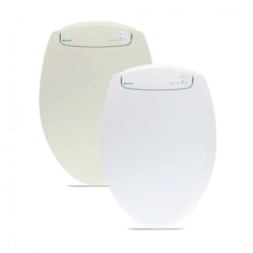 LumaWarm Round Heated Seat in Biscuit