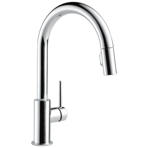 Delta Trinsic Pull-Down Kitchen Faucet in Chrome - 9159-DST