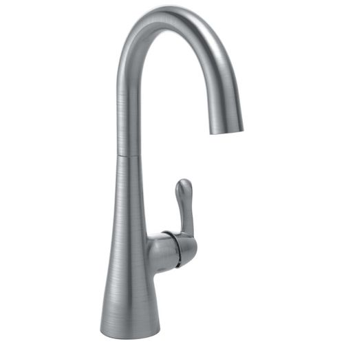 Delta  Bar Kitchen Faucet in Arctic Stainless - 1953LF-AR