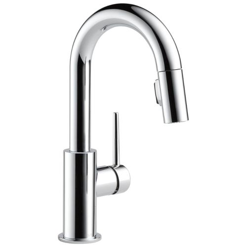 Delta Trinsic Bar Kitchen Faucet in Chrome 1.8 gpm - 9959-DST