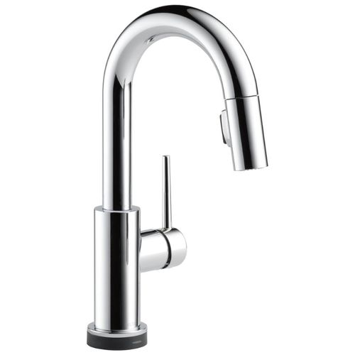 Delta Trinsic Bar Kitchen Faucet in Chrome with Touch Control - 9959T-DST