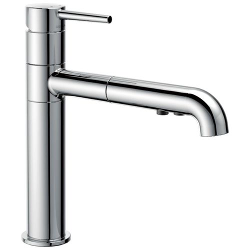 Delta Trinsic Pull-Out Kitchen Faucet in Chrome - 4159-DST