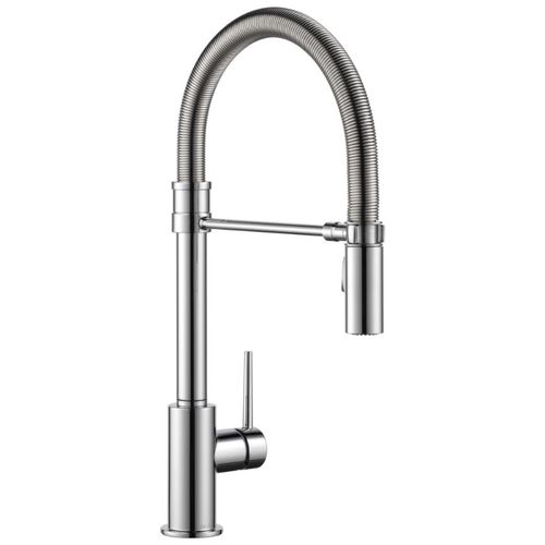 Delta Trinsic Pre-Rinse Kitchen Faucet in Chrome - 9659-DST