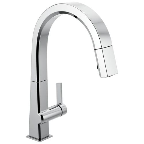 Delta Pivotal Pull-Down Kitchen Faucet in Chrome - 9193-DST