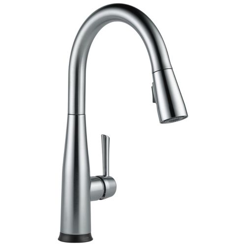 Delta Essa Pull-Down Kitchen Faucet in Arctic Stainless - 9113TV-AR-DST