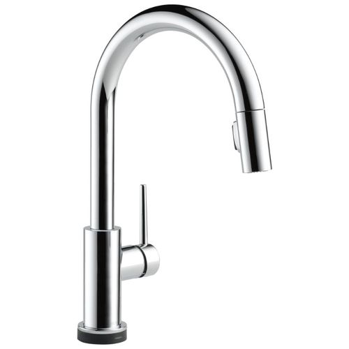 Delta Trinsic Pull-Down Kitchen Faucet in Chrome with Touch Control - 9159T-DST