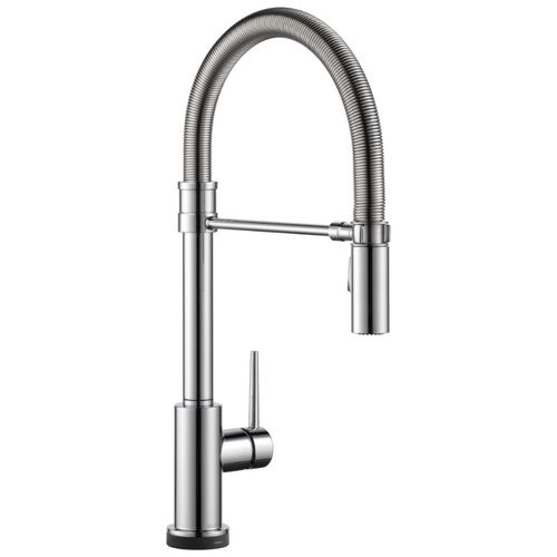 Delta Trinsic Pre-Rinse Kitchen Faucet in Chrome with Touch Control - 9659T-DST