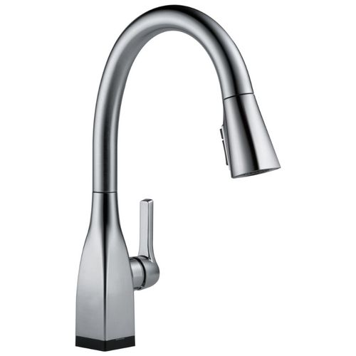 Delta Mateo Pull-Down Kitchen Faucet in Arctic Stainless with Touch Control - 9183T-AR-DST