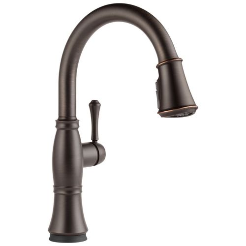 Delta Cassidy Pull-Down Kitchen Faucet in Venetian Bronze with Touch Control - 9197T-RB-DST