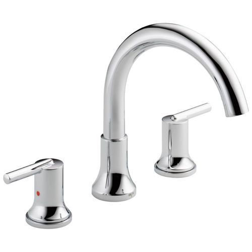 Trinsic Two-Handle Roman Tub Faucet in Chrome