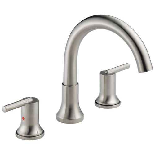 Trinsic Two-Handle Roman Tub Faucet in Stainless