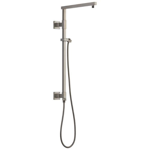 Universal Showering Components Angular Shower Column in Stainless