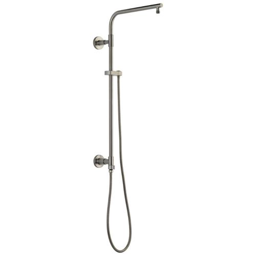 Universal Showering Components Round Shower Column in Stainless