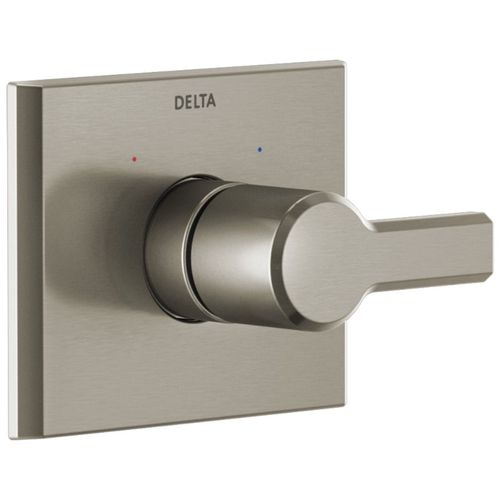 Pivotal Single-Handle Tub & Shower Valve in Stainless