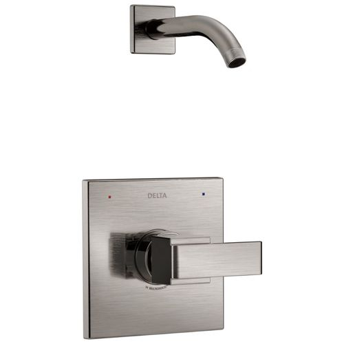 Ara Single-Handle Shower Arm Shower Trim in Stainless