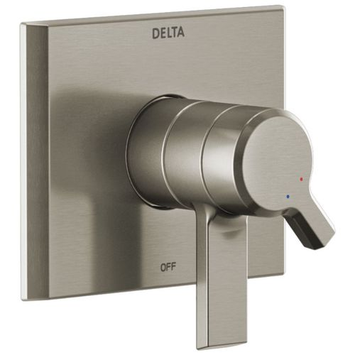 Pivotal Single-Handle Control Trim in Stainless