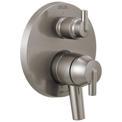 Trinsic Two-Handle 3-Setting Control Trim in Stainless with Volume & Temperature Control