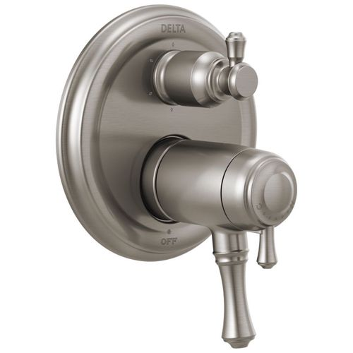Cassidy Two-Handle Control Trim in Stainless - Thermostatic Cartridge