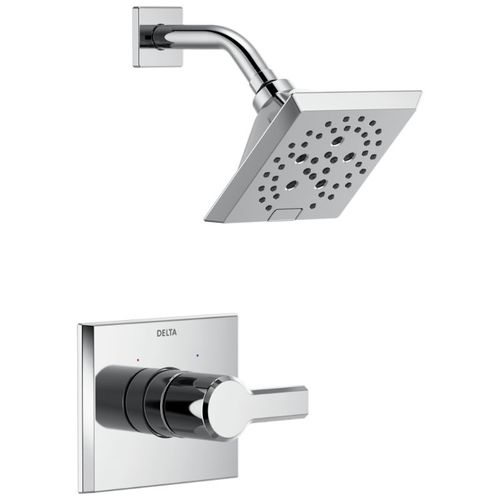 Pivotal Single-Handle Shower Only in Chrome