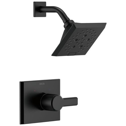 Pivotal Single-Handle Shower Only in Matte Black