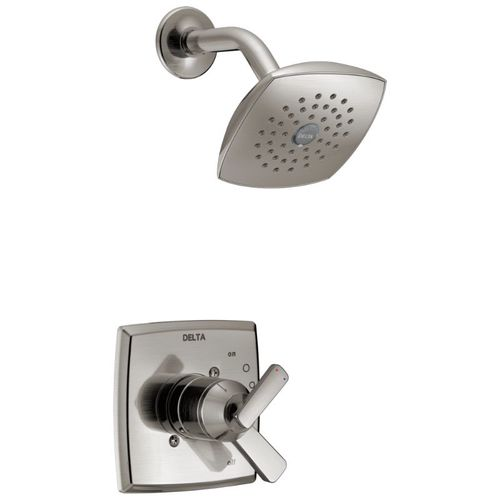 Ashlyn Single-Handle Shower Only in Stainless with Volume & Temperature Control