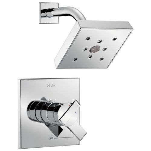 Ara Single-Handle Shower Only in Chrome with Volume & Temperature Control