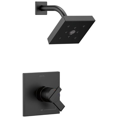 Ara Single-Handle Shower Only in Matte Black with Volume & Temperature Control