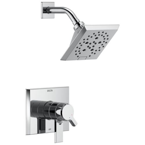 Pivotal Single-Handle Shower Only in Chrome with Volume & Temperature Control