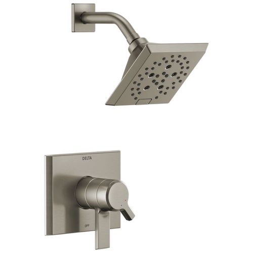 Pivotal Single-Handle Shower Only in Stainless with Volume & Temperature Control