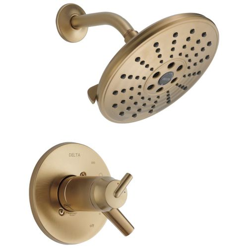 Trinsic Two-Handle Shower Only in Champagne Bronze