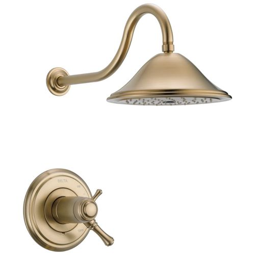 Cassidy Single-Handle Shower Only in Champagne Bronze