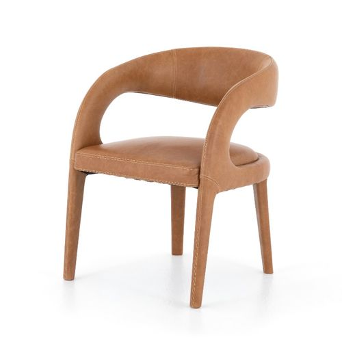 """Hawkins Dining Chair in Sonoma Butterscotch (23.5"""" x 24"""" x 31"""")"""