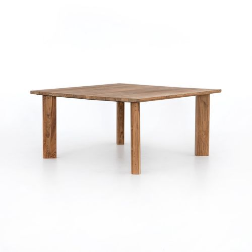 """Kimball Dining Table in Natural Reclaimed Teak (60.5"""" x 60.5"""" x 30"""")"""