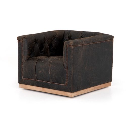 maxx chair in destroyed black