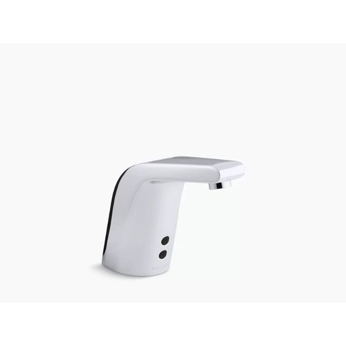 Kohler  Sculpted Touchless Bathroom Faucet in Polished Chrome - Temperature Mixer