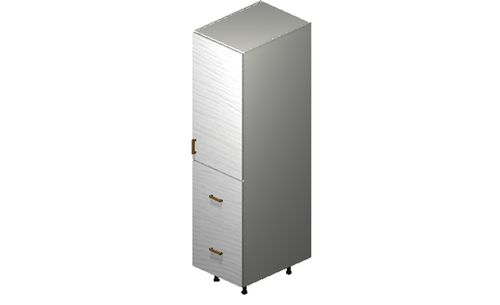 """Marquis White Pine Tall Cabinet - 1 Door, 2 Drawers, 1 Inner Drawer (18 x 71.25 x 24"""")"""""""""""