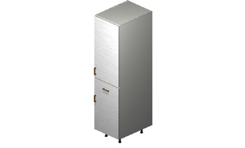 """Marquis White Pine Tall Cabinet - 1 Door, 1 Drawer (18 x 71.25 x 24"""")"""""""""""