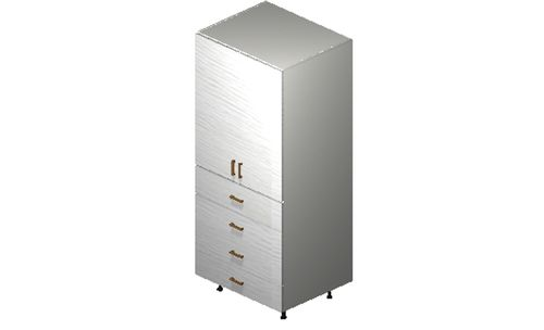 """Marquis White Pine Tall Cabinet - 4 Doors, 1 Drawer (30 x 71.25 x 24"""")"""""""""""