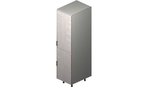 """Cortina Oyster Shell Tall Cabinet - 1 Full-Height Door (18 x 71.25 x 24"""")"""""""""""