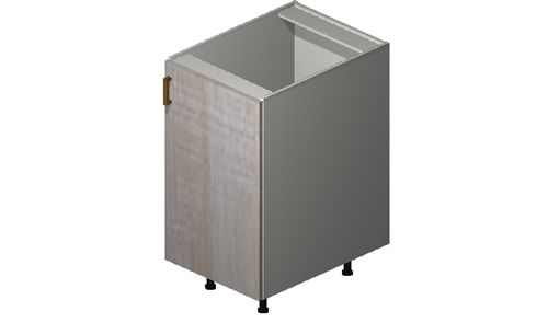 """Cortina Oyster Shell Base Cabinet - 1 Full-Height Door (18 x 34.75 x 24"""")"""""""""""