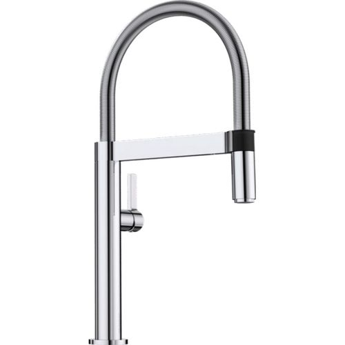 "Culina Pull-Down Kitchen Faucet in Polished Chrome - 17.13"" High"
